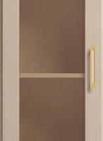 Шкаф для книг угловой (левый) №24
