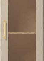 Шкаф для книг угловой (правый) №25