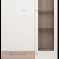 Шкаф комбинированный двухдверный №1