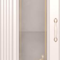 Шкаф-пенал левый со стеклом №17