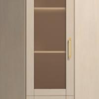 Шкаф для книг угловой №23