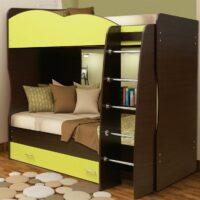 Кровать Юниор 2.1 с матрасами в комплекте