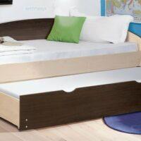 Кровать выдвижная с матрасами