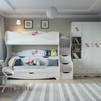 Кровать двухъярусная «Акварель»