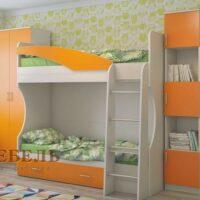 Детская мебель Бэмби-4 (без матрасов)