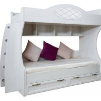 Кровать-чердак «Александрия» Мод. ДА-11 + ДА-10