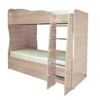 Кровать Юниор 2 с матрасами в комплекте