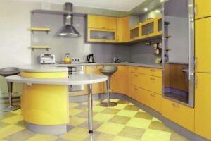 Кухня в желтом цвете - Цветовые решения для кухни 2019