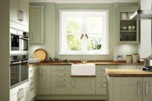 Кухня в оливковом цвете - Цветовые решения для кухни 2019