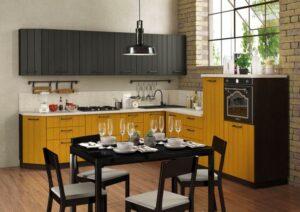Контрастная кухня - Цветовые решения для кухни 2019