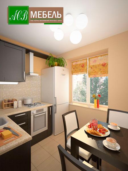 Как маленькую кухню сделать комфортной и удобной?