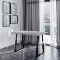Loft Beton раздвижной обеденный стол в стиле лофт