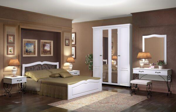 Модульный спальный гарнитур Лукреция