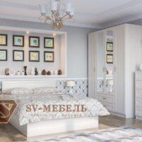 Модульный спальный гарнитур Вега