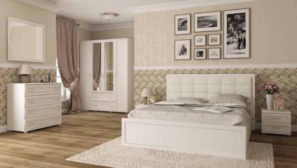 Модульный спальный гарнитур Ника-Люкс