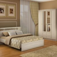 Модульный спальный гарнитур Брайтон