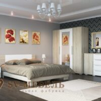 «Лагуна 2 ЛДСП» Кровать 160