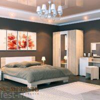 Модульный спальный гарнитур «Лагуна 2»