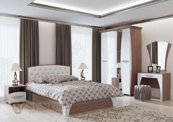 Модульный спальный гарнитур Лагуна 7