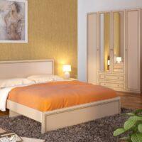Модульный спальный гарнитур «Беатрис»