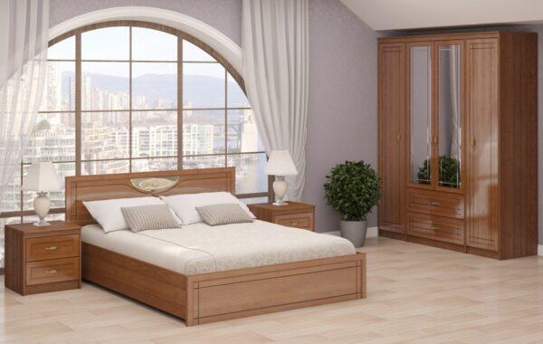Модульный спальный гарнитур Лондон