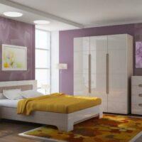 Модульный спальный гарнитур Палермо