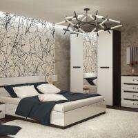 Модульный спальный гарнитур Вегас