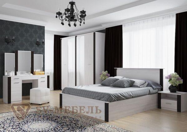 Модульный спальный гарнитур Гамма 20