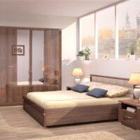 Модульный спальный гарнитур Париж