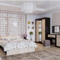 Модульный спальный гарнитур «Эдем 5»