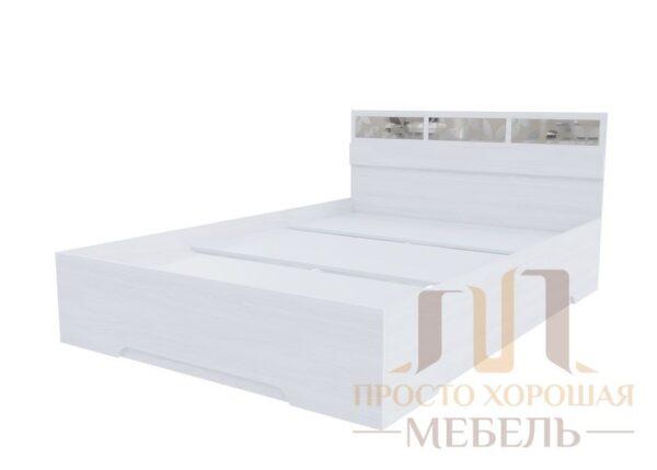 «Николь 1» Кровать 120 (с комплектом стекол)