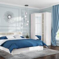 Модульный спальный гарнитур «Николь 1»