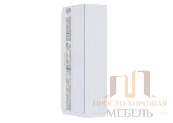«Николь 1» Шкаф угловой (с комплектом стекол)