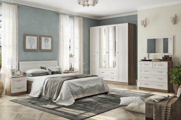 Модульный спальный гарнитур Лестер
