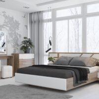 Модульный спальный гарнитур «Лагуна 8»