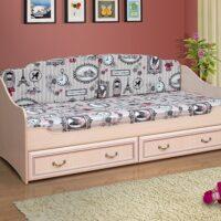 Кровать Омега-7 с матрасом