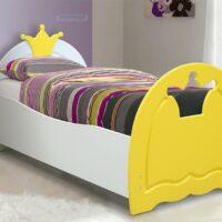 Кровать «Корона» МДФ с матрасом 80х160