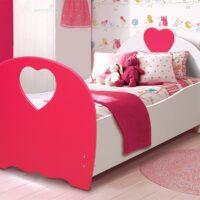 Кровать «Сердце» МДФ с матрасом