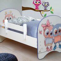 Кровать с фотопечатью с матрасом