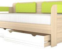«Стиль Лайм» Мод.900.4 Кровать с мяг. спинкой