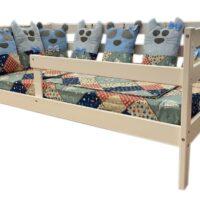 Кровать «ЭКО 9» массив берёзы