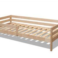 Кровать «ЭКО 9»  под лаком 80х190