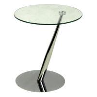Столик приставной MK-6328 45х45х50 см Хром 1 шт. в 1 кор.