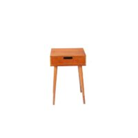 Столик кофейный MK-2378 40х40х60 см Темный орех 1 шт. в 1 кор.