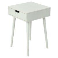 Столик кофейный MK-2378-WT 40х40х60 см Белый 1 шт. в 1 кор.
