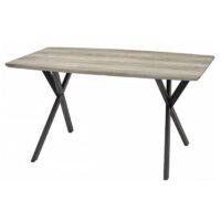 Стол обеденный DT-9854 MK-5821-GR нераскладной 80х140х75 см Серый 1 шт. в 2 кор.