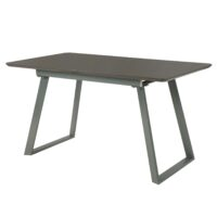 Стол обеденный DT-9162 MK-5811-CP раскладной 80х140(180)х76 см Серый 1 шт. в 2 кор.