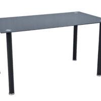 Стол обеденный DTGJ-C170 MK-7034-BL стеклянный 80х140х74 см Черный 1 шт. в 2 кор.