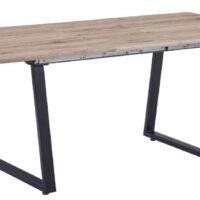 Стол обеденный DT-89006 MK-7305-WD раскладной 90х140(180)х76 см Орех 1 шт. в 2 кор.