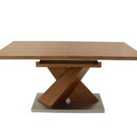 Стол обеденный T15687A MK-5504-OK обеденный раскладной 90х160(220)х76 см Дуб 1 шт. в 3 кор.